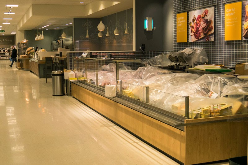 Waitrose cheese counter