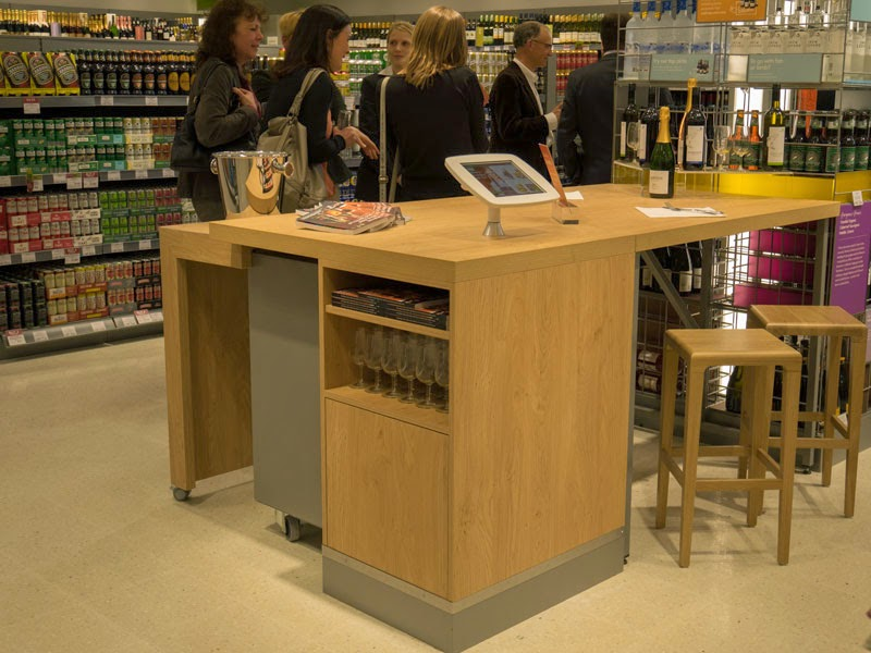 Waitrose wine bar