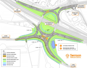 Improvements planned for Junction 16 of the M4 motorway