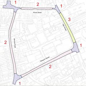 diagram of road scheme